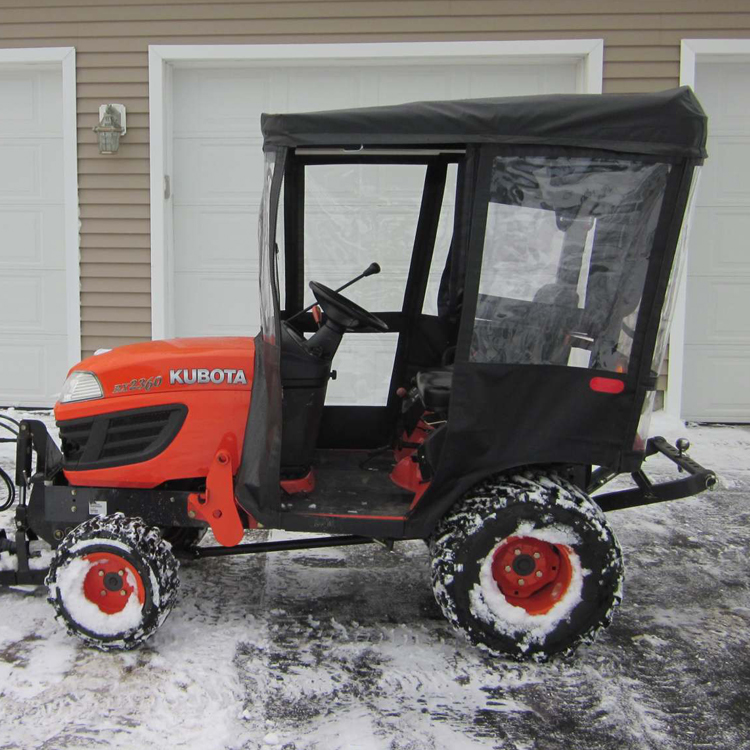 Kubota Bx Wheel Spacers : Tractor cab for kubota bx series tractors requires canopy