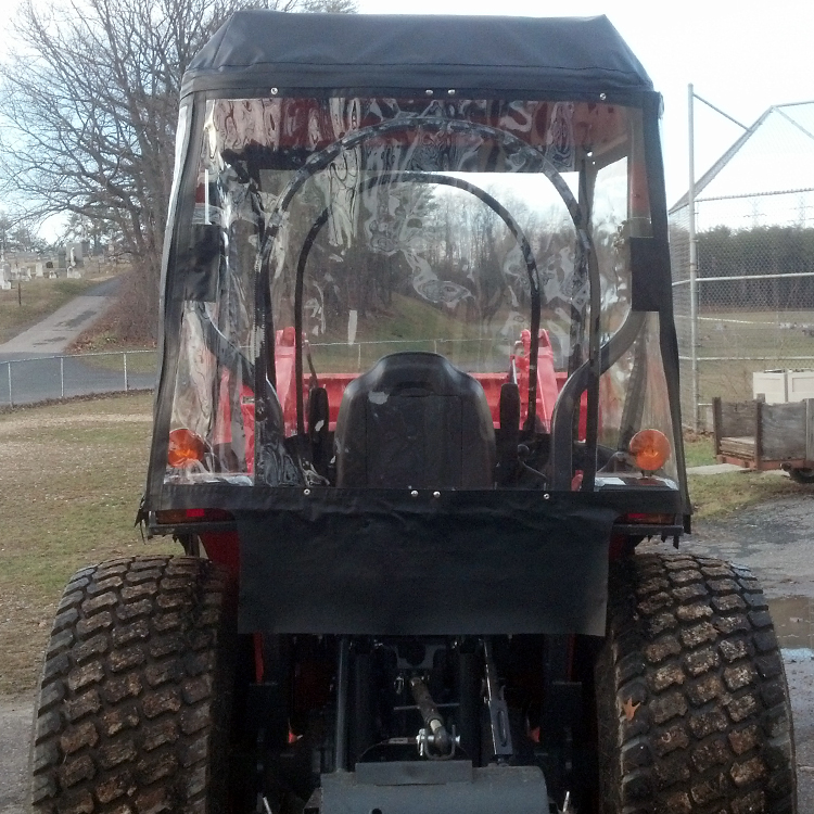 Quick View. & Tractor Cab for Kubota L Series Tractors (Requires Canopy)