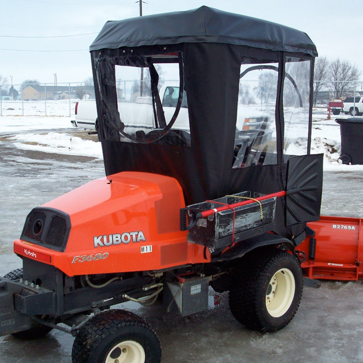 & Cab Enclosure for Kubota ZD331 - Requires Canopy