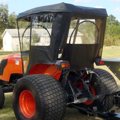 Tractor Cab Enclosure For Kubota M Series Requires Canopy