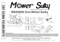 kubota riding mowers with One Wheel Sulky With Lift And Latch  P 4455 on Small Electric Lawn Mower in addition Replacing Belt 1986 Murray Lawn Mower 375706 together with Gravely 252 Parts Diagram likewise Mtd Lawn Tractor Wiring Diagram moreover One Wheel Sulky With Lift And Latch  p 4455.