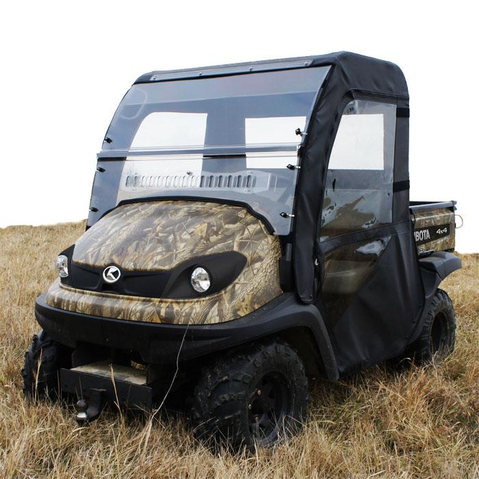 Full Cab Enclosure To Fit Existing Hard Windshield For Kubota RTV400