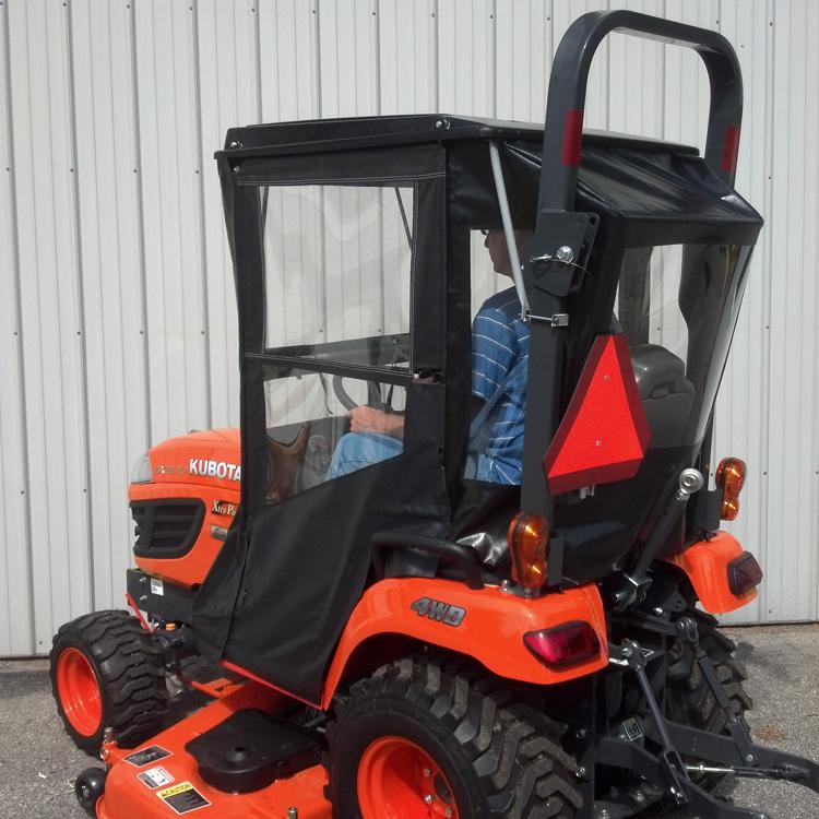 Kubota B7100 Tractor Seat Covers : Cab enclosure for kubota bx and series