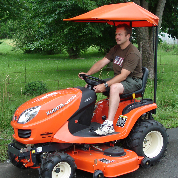 sc 1 st  OrangeAftermarket.com & Soft Top Canopy for Kubota GR Series Lawn Tractors