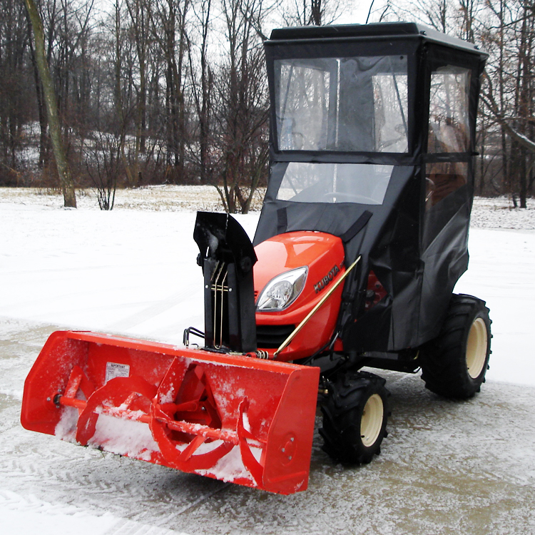 Cab Enclosure Hinged Doors For Kubota Gr Series