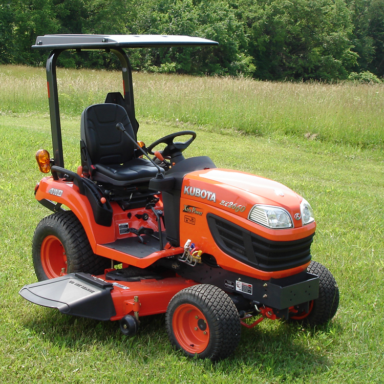 Kubota Bx Bumpers : Hardtop abs plastic canopy for kubota tractors and mowers