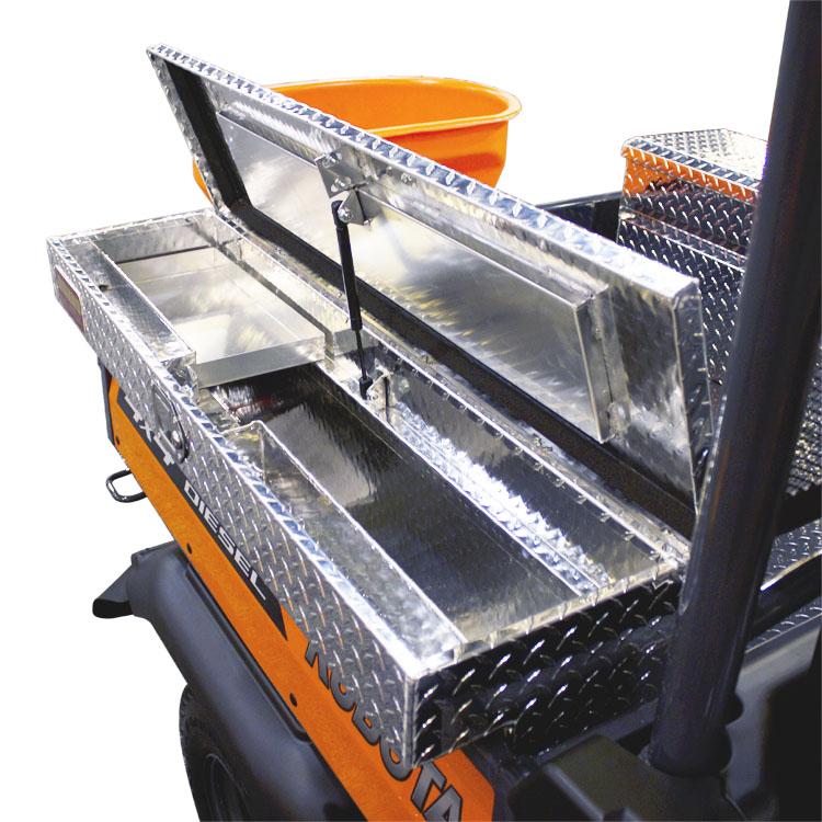 Kubota Tractor Tool Box : Tool storage kubota