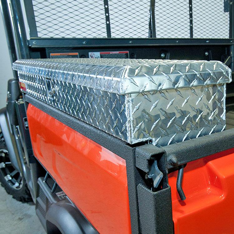 Kubota Tractor Tool Box : Side mount tool box for the kubota rtv