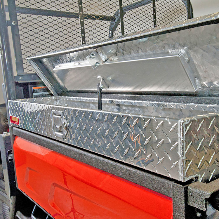 Side Mount Tool Box For The Kubota Rtv