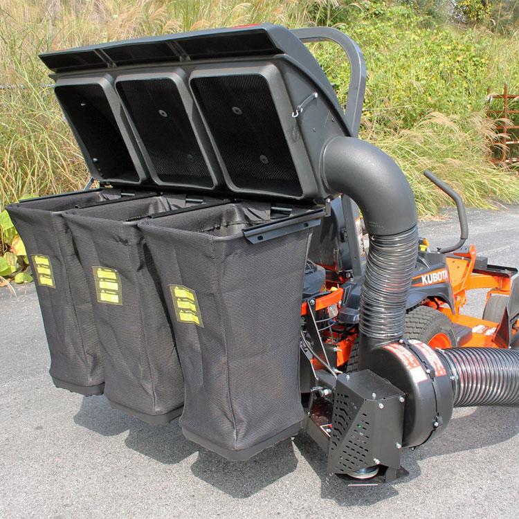 Power Bagger For Kubota Kommander Pro Mower