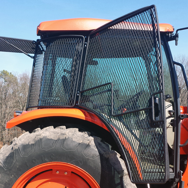 Protective Cage Door Kit For Kubota Deluxe Utility M Series Cab Tractors