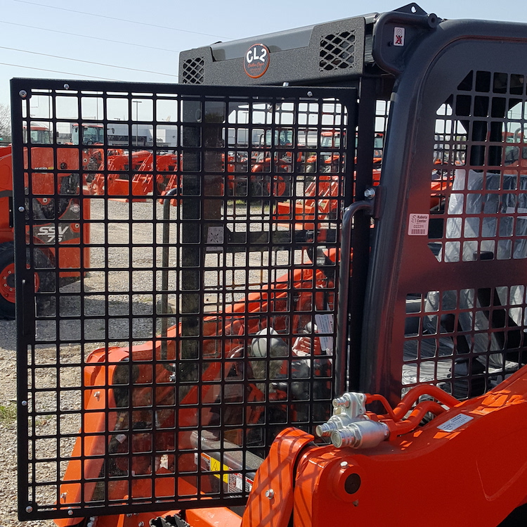 New Windshield Cost >> SVL 75-2, SVL 95-2 Skid Steer Protection Screen