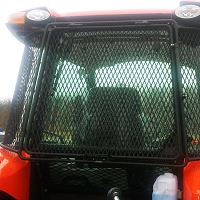 Protective Cab Rear Screen for M7 Tractor Series