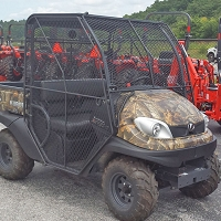 GOLF CAGE ENCLOSURE FOR THE KUBOTA RTV400, RTV500