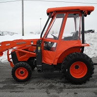 Tractor Cab Enclosure for Kubota L39  and L45 TLB