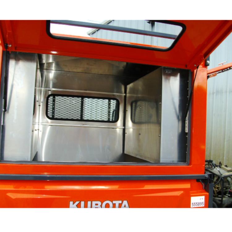 Storage No 2 Utility Storage: Kubota Sidebox With (2) Adjustable Shelves