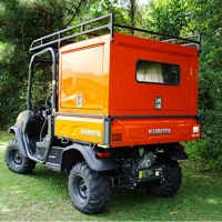 Utility Bed Box with (3) Gull-Wing Doors for the Kubota RTV-X Series