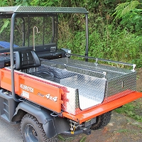 DELUXE MEDICAL-RESCUE SKID WITH PROVIDER SEAT FOR THE KUBOTA RTV