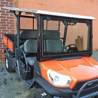 Diamond Plate Aluminum Roof for Kubota RTV-X1140