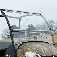 Quantum Coated Polycarbonate, Vented Windshield for the Kubota RTV400-RTV500