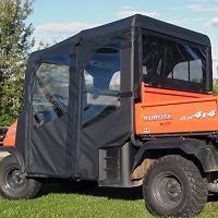 Full Cab Enclosure for Kubota RTV1140 for Pre-Existing Windshield