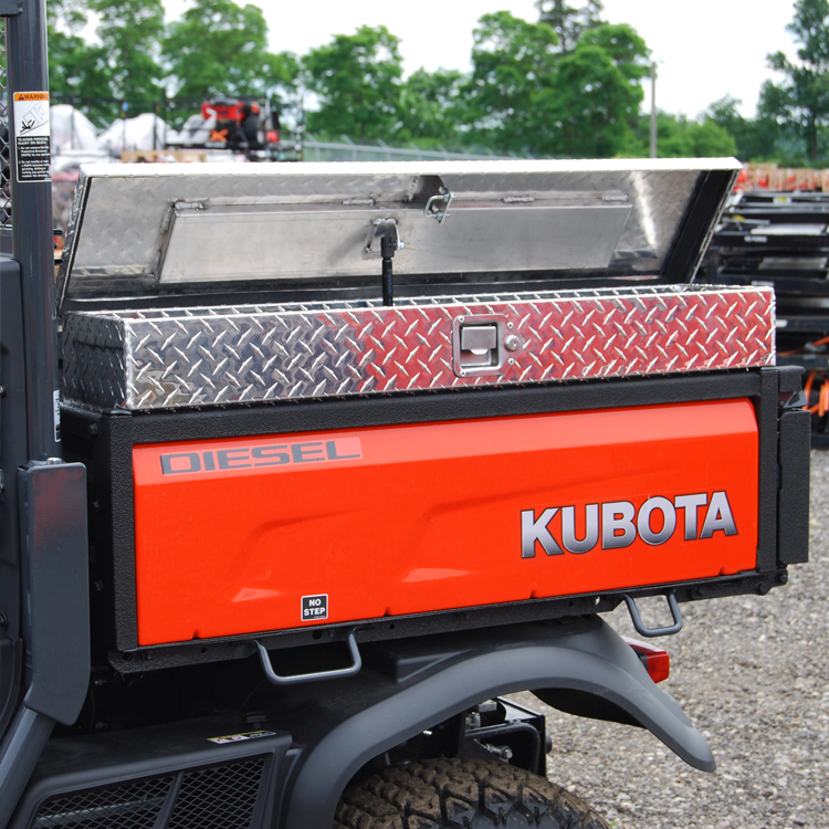 Kubota Bx Tool Box : Side mount tool box for the kubota series diamond