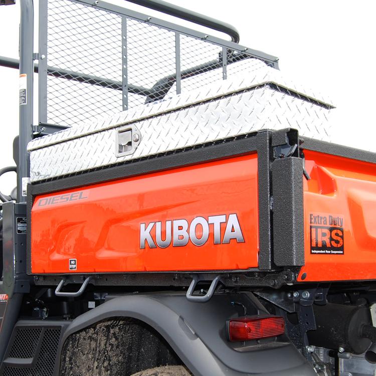 Side Mount Tool Box For The Kubota Rtv