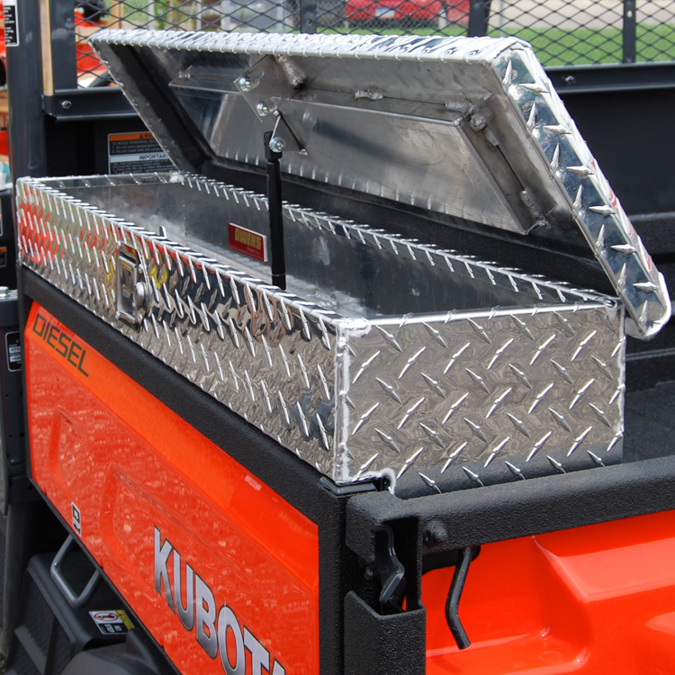 What Size Tires Do I Need >> Side Mount Tool Box for the Kubota RTV