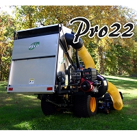 PRO 22 Category 1, 3-Point Hitch Mounted Vac System