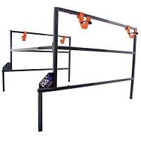 Accessory Rack for Kubota RTV900 and RTV1100- Bolt Together Style with 4 hooks