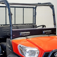 Versa Vent Acrylic & ABS Windshield for the RTV X-Series