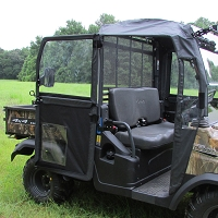 Hinged Door Kit with Heavy Duty Steel Frame for the Kubota RTV900