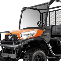 Acrylic Windshield for the Kubota RTVX900 and RTVX1120D