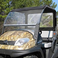 Fabric Sunshade & Rear Panel for RTV400 & RTV500