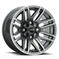 112 Assault Gunmetal Wheel 4 x 110 - 14