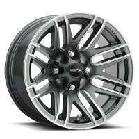 112 Assault Gunmetal Wheel 4 x 110 - 12