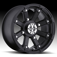 393 Lockout Matte Black Wheel 4 x 110 - 12