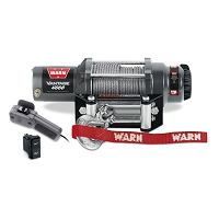 Vantage 4000 Winch w/ Wire Rope