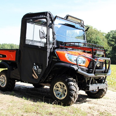 Hinged Door and Rear Window Kit for the Kubota RTV-X900 and RTV-X1120