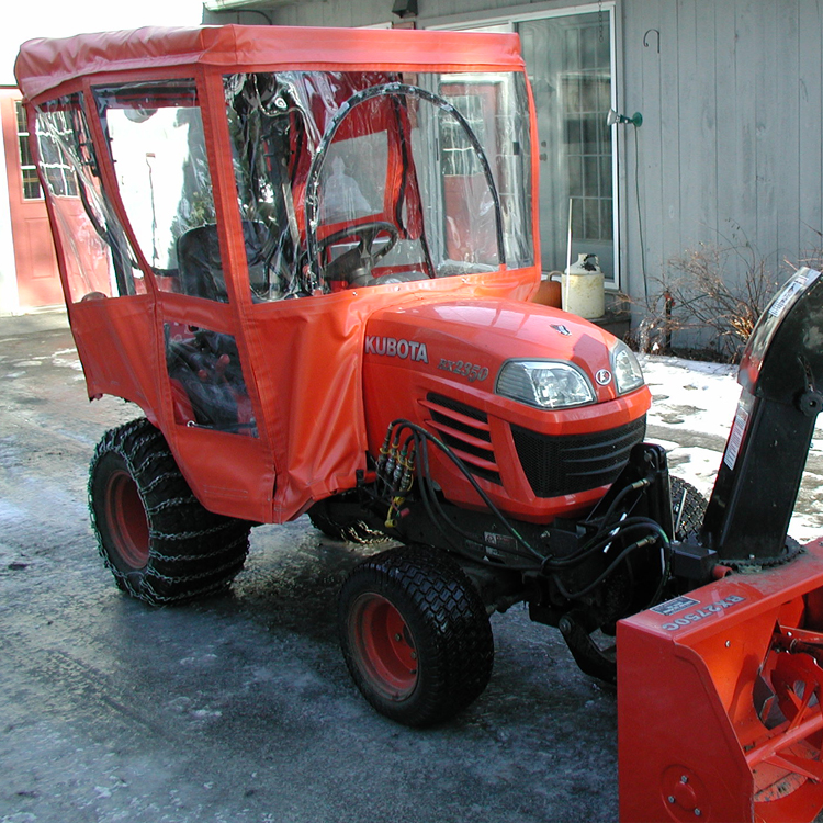 Tractor Cab For Kubota Bx Series Tractors Requires Canopy