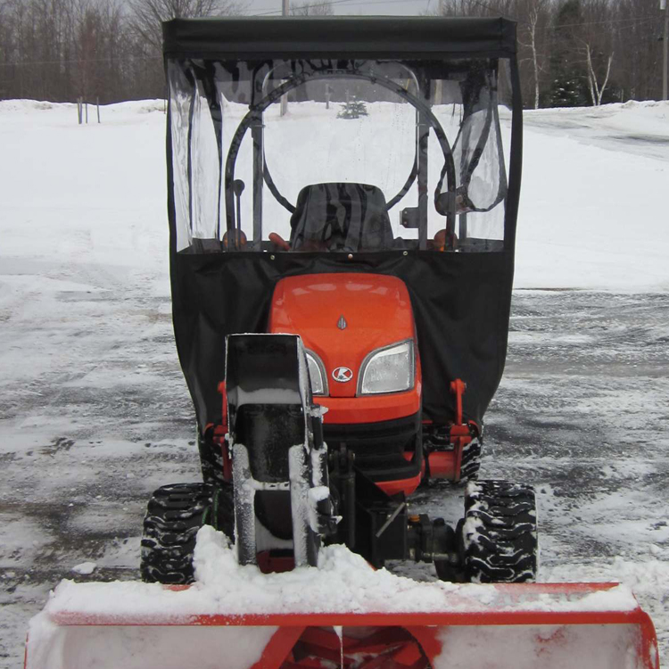 Tractor Cab for Kubota BX Series Tractors - Requires Canopy