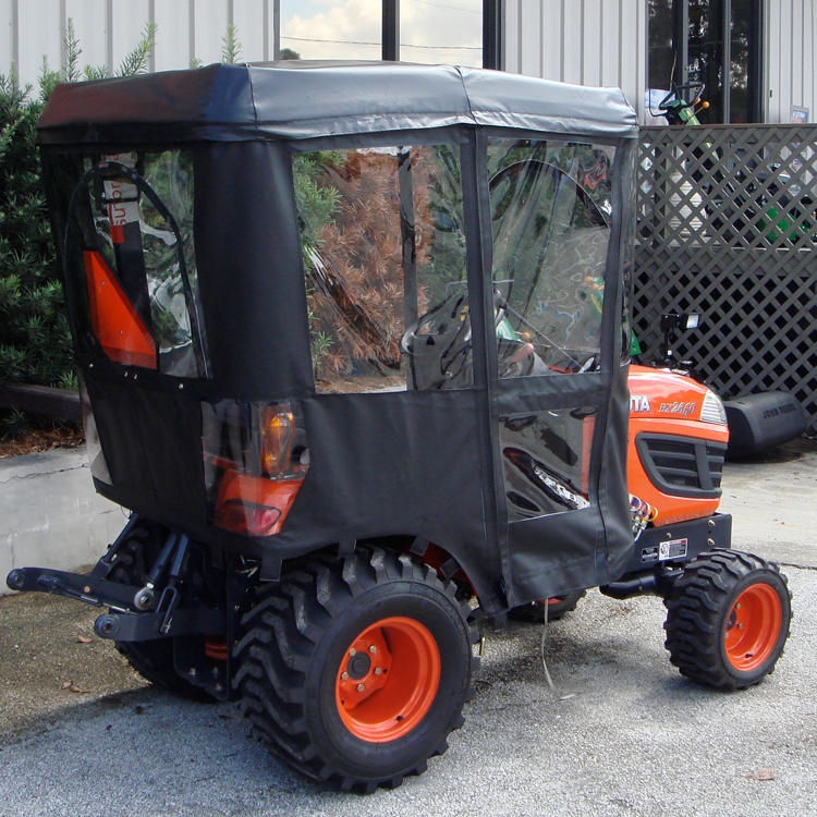 Tractor Cab Enclosure for Kubota BX Series Tractors - Requires Canopy