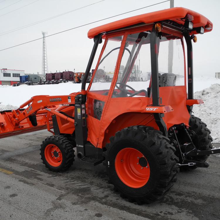 Cab Enclosure for Kubota L47, L48 & M62 Tractor Series