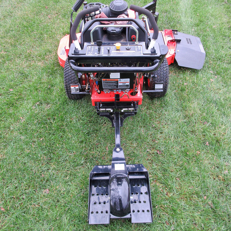 One Wheel Sulky Lift Mowers Pneumatic Mower Behind Quick Release Powder Coated