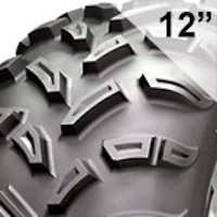 6-Ply Rated Tires for 12 Inch Wheels