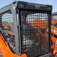 Protection Screen for Kubota SVL 75, 95, 65-2, 75-2, 95-2, 75-2S, & 95-2S Track Loader