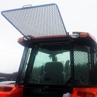 Rock Screen Tractor Cab for M6S-111
