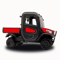 Red - Vinyl Wrap for Kubota RTV-X1100