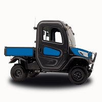 Solid Color Vinyl Vehicle Wrap for RTV-X1100 - Intense Blue