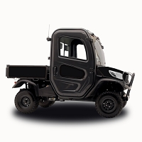 Matte Black - Vinyl Wrap for Kubota RTV-X1100